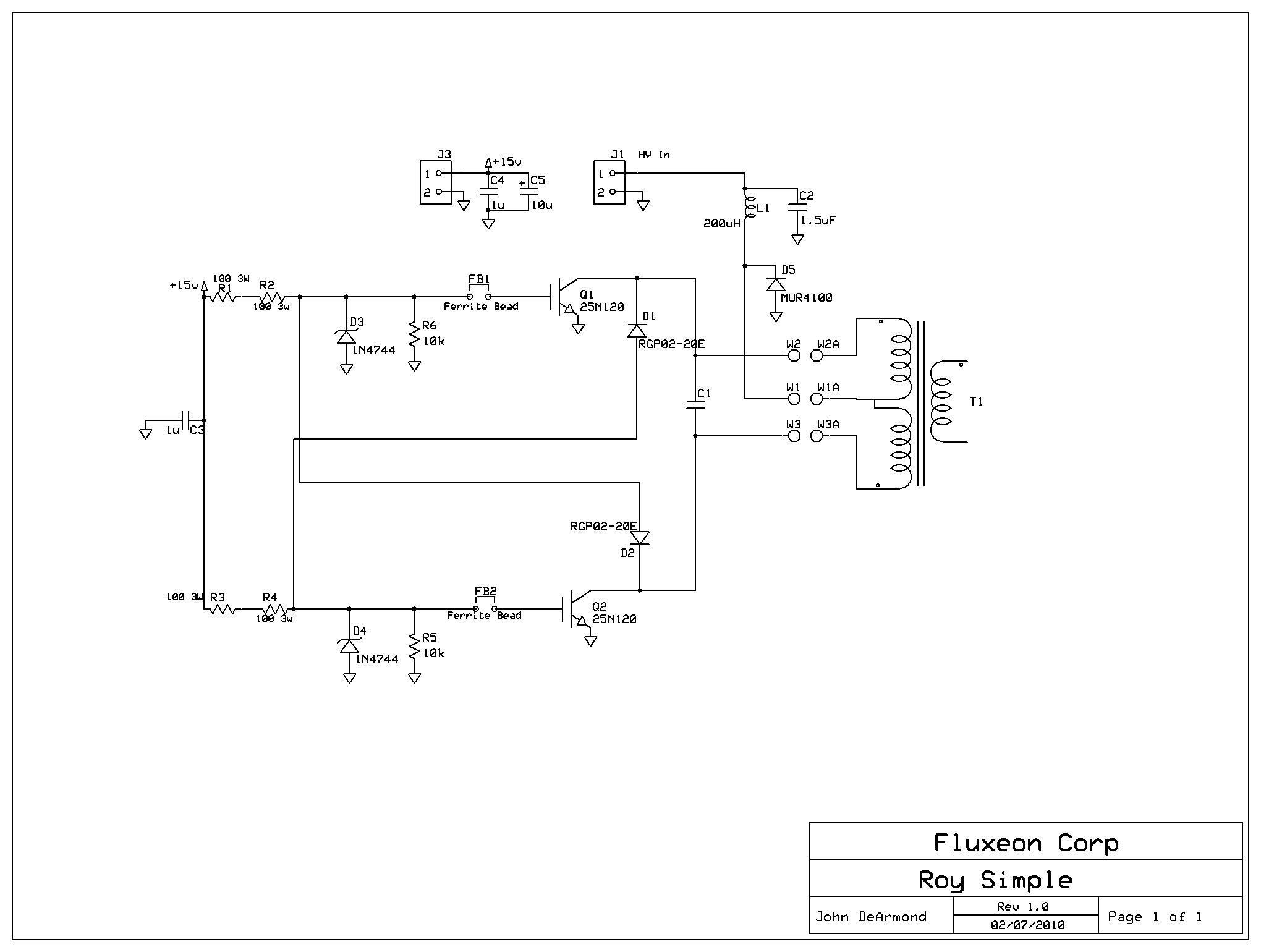 homemade induction heater plans